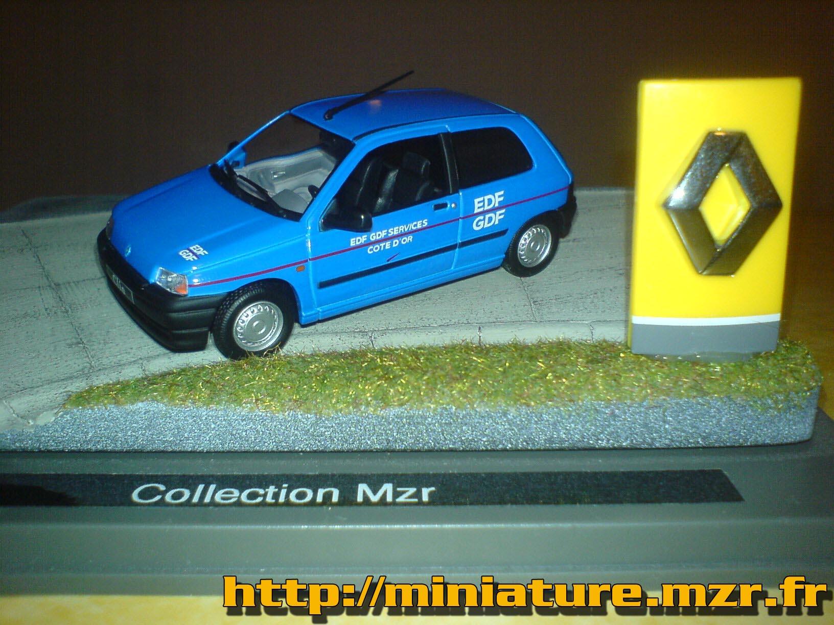 mzr miniatures afficher le sujet renault clio 1 edf. Black Bedroom Furniture Sets. Home Design Ideas
